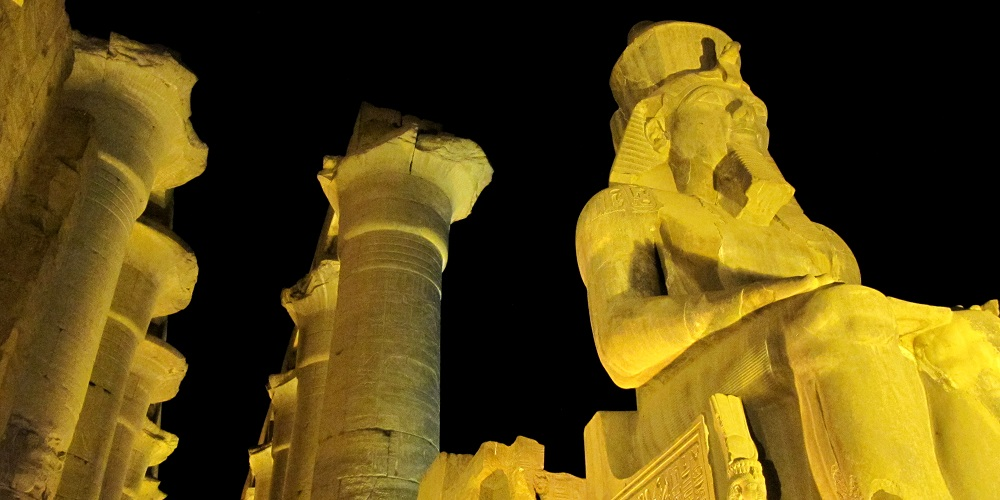 FT EGYPT Luxor Temple by Night 2W