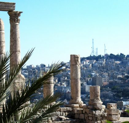 Amman Jordan city of Jerash
