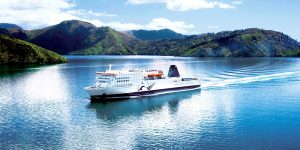 FT NEW ZEALAND InterIslander Marlborough Sounds closeup