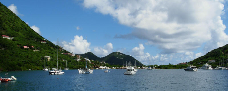 TORTOLA CARIBBEAN BRITISH VIRGIN ISLANDS