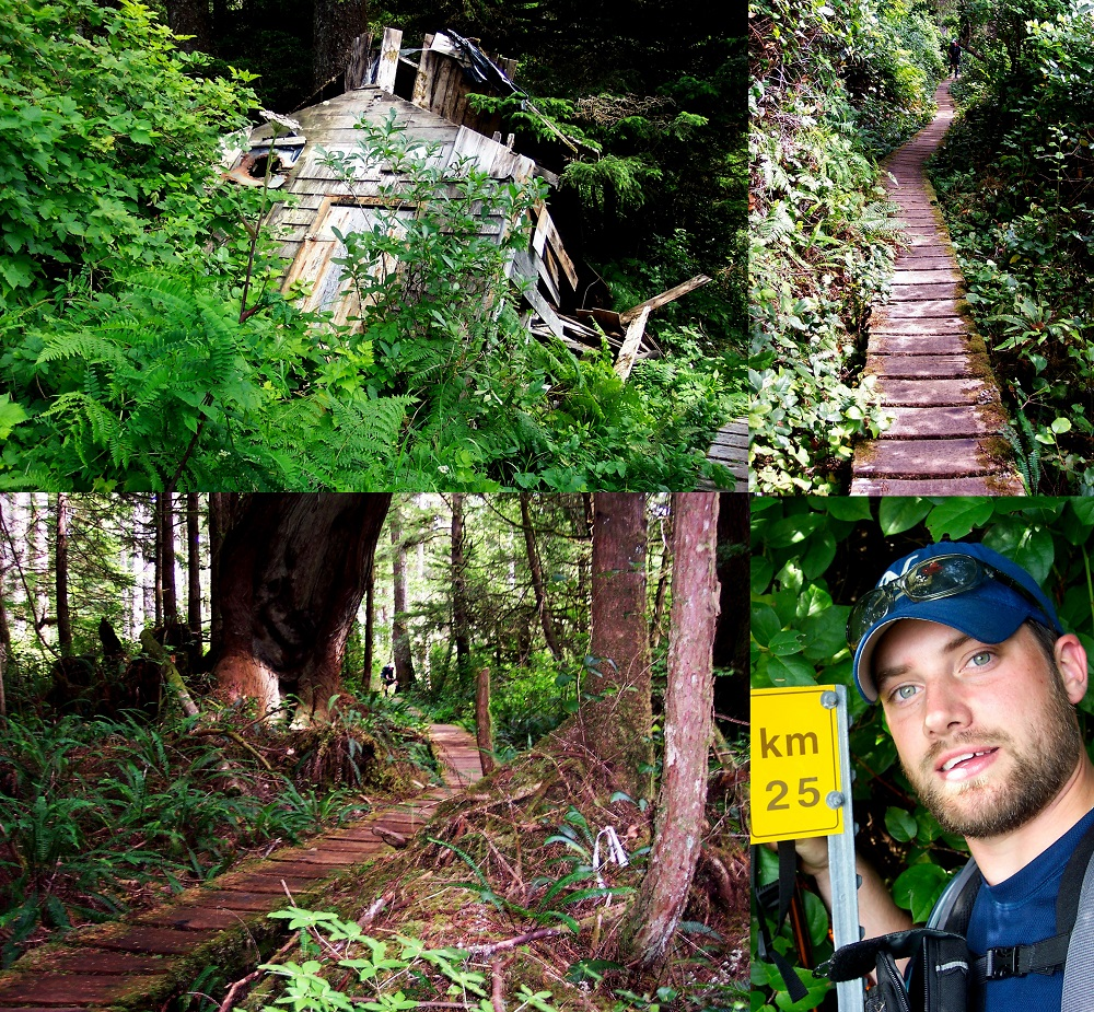 CANADA BC West Coast Trail 1208 25km collage