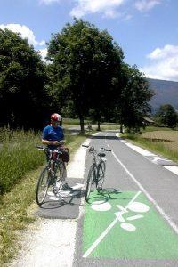 FRANCE Anncey lake bike 1