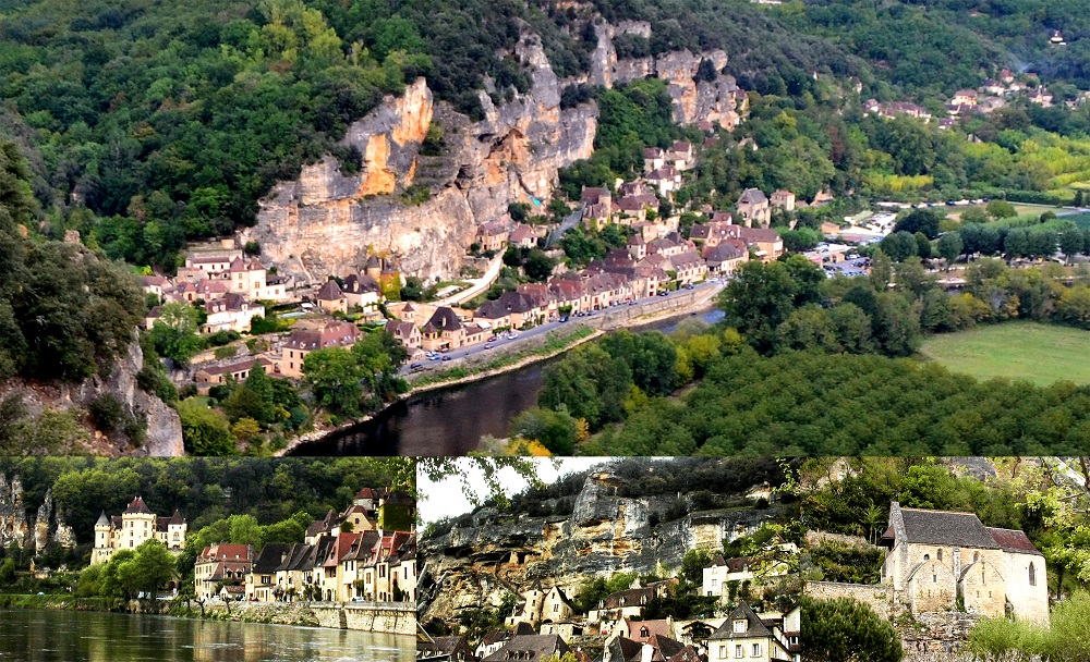 FRANCE La Roque-Gageac collage