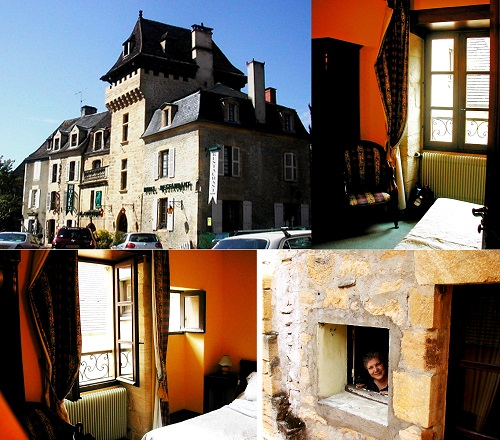 FRANCE Sarlat 01 Hotel La Couleuvrine collage