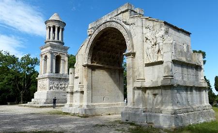 FRANCE St Remy Roman arch