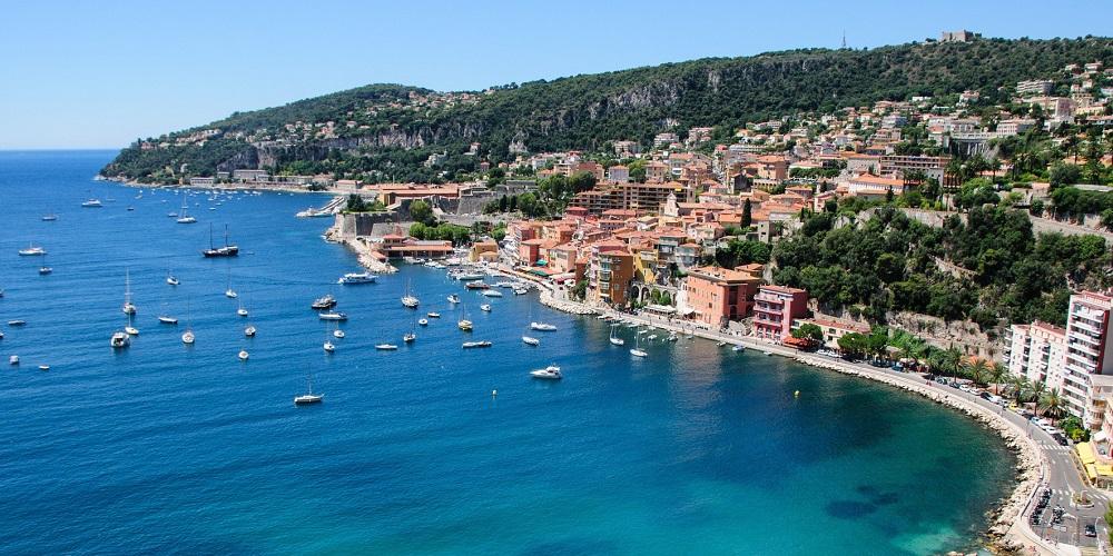 FT FRANCE Villefranche-sur-Mer aerial Pixabay